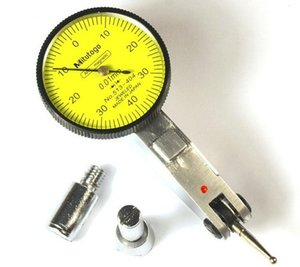 513-404 Metal İşleme Analog Kolu Arama Göstergesi Arama Ölçer Doğruluk 0.01 Aralığı 0-0.8mm Ölçüm Araçları