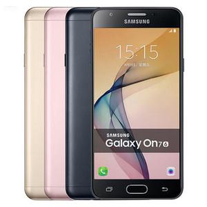 تم تجديده الأصلي سامسونج غالاكسي On7 2016 G6100 المزدوج سيم 5.5 بوصة الثماني الأساسية 3GB RAM 32GB ROM 13MP الروبوت 4G LTE الهاتف الخليوي DHL محفظة 5pcs