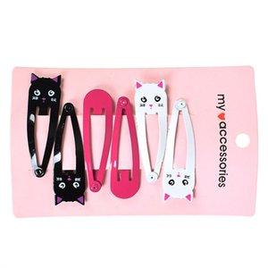 60PCS Lot New Little Girl Cute Cartoon Animal Barrettes Kid Headwear Hair Clip Children Gift Hair Accessories Snap Clips Hairpin