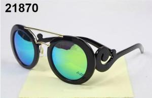 TOP Eyewear Design Round Sun Glasses Color Film Polarized MEN Sunglasses Brand Logo Design Driving Glasses Goggles Oculos De So