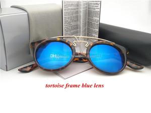 yeni moda Kaplama Sunglass yuvarlak çerçeve Sürüş güneş gözlüğü Kadınlar Göz vaka ucuz fiyat ile Güneş yaz spor güneş camı giymek