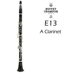 Buffet Crampon E13 мелодии кларнет Нового прибытие Марка Музыкальный инструмент Дерево / бакелит тело кларнет с футляром мундштук