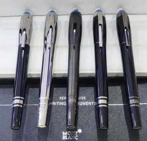 High Quality Luxury MT 14k 4810 Fountain pen transparent cap Classique black resin with serial numer with box