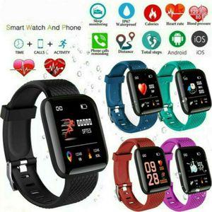 D13 D18 D20 Y68 115Plus 116Plus 119Plus intelligents Montres 116 115 De plus Montre cardiofréquencemètre intelligent Wristband montres de sport Band Blood Pressure