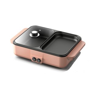 Stainless Steel Wok No Lampblack Frying Pan Uncoated Non-stick Cookware 32cm with Cover Double Sided Full Flower Steamer Pink
