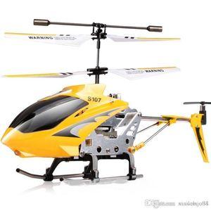 Nueva Syma 107G Serie metal W / GYRO aluminio del fuselaje 3Ch pequeño Micro Helicóptero RC S107 Control Remoto RTF