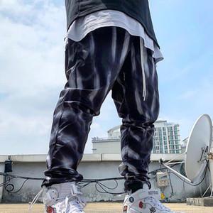 19SS FEAR OF GOD Брюки с принтом FOG Спортивные брюки Мода Скейтборд Уличные повседневные брюки Спортивные дышащие спортивные штаны HFYMKZ171