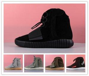 2018 HOT 750 gris clair Gum Glow In The Dark Kanye West Chaussures Chaussures de basket-ball 750 hommes SpssYEzZYYEzZYs v2 350renforcer