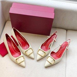 Valentino shoes gros femmes design original chaussures habillées hauts talons, pantoufles de marque, etc sandle, 3 hauteur du talon pour choisi, livraison rapide