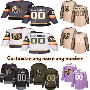 Custom 2020 News Vegas Golden Knights Hockey Jerseys Multiple styles Mens Custom Any Name Any Number Hockey Jerseys