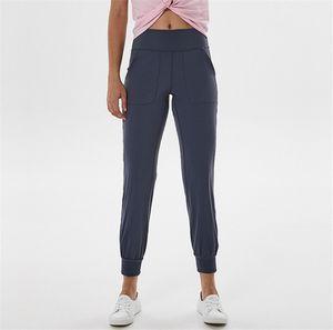 LU-19027 Marke Designer Klassische Frau Slim Fitness Leggings Jogging Yoga Gym lange Hosen Quick Dry-Sport-Hose
