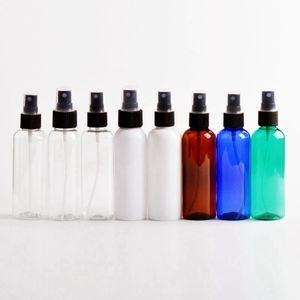 100ml Limpar spray garrafas vazias recarregáveis Container PET de plástico transparente Garrafa Hand Sanitizer viagem Atomizador Perfume Bottle RRA3204