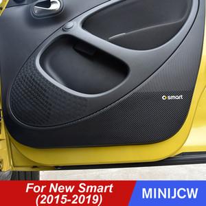 Двери автомобиля Anti-удар Pad Protector Anti-грязный фильм углеродного волокна наклейки для нового смарт-453 Fortwo Forfour Автоаксессуары