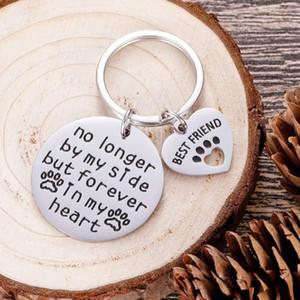Presentes Memorial Cat Dog Pet chaveiro para presentes da simpatia do animal de estimação do cão Proprietário Mom Dad Remembrance memória para Perda de perda