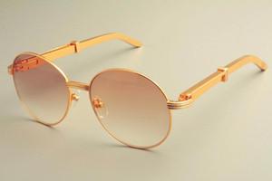 2019 جديد الشحن مجانا حار بيع إطار جولة نظارات شمس 19900692 النظارات الشمسية، الرجعية الأزياء واقي من الشمس، الفولاذ المقاوم للصدأ الهيكل المعدني النظارات الشمسية