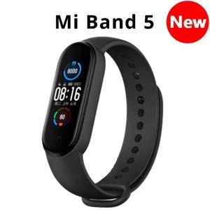 Mi Band 5 Bracelet 4 intelligent à écran tactile couleur Miband 5 Wristband Fitness sang oxygène piste de fréquence cardiaque MonitorSmartband