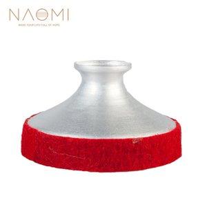 NAOMI 테너 색소폰 음소거 가벼운 알루미늄 색소폰 음소거 테너 색소폰 용 레드 소음기 목관 악기 부품 액세서리