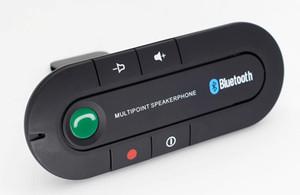 Sun Visor Bluetooth Speakerphone Lettore musicale MP3 Trasmettitore Bluetooth senza fili Vivavoce Car Kit Ricevitore Caricabatteria da auto 2019