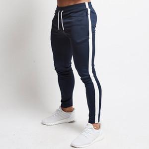 Herbst Mens-Hosen-beiläufige Jogginghose Jogginghose Lange Hosen für Männer nehmen Solid Color Workout Hosen-Mann 2020 Brand New 3XL