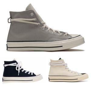 2019 الجديدة الخوف من الله ESSENTIALS FOG تشاك 70 أحذية رجالية العليا رمادي أسود أبيض أحذية قماش عادية الحجم 35-44