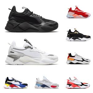 puma Nuevo rs-x Reinvention Toys hombres mujeres zapatos casuales triple negro PEACH Tracks para hombre zapatillas de deporte transpirables plataforma zapatillas tamaño 36-45