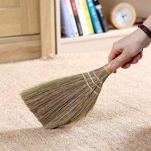 Handgemachte Kehrbesen für Haushalts-Duster Reinigungswerkzeug Nützliche Straw Geflochtene Reinigungsbesen langer Abschnitt Brooms Kehrschaufeln