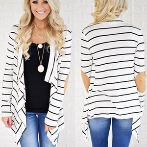 Mode Unregelmäßige Womans Designer Mäntel Kontrast-Farben-Patchwork-Revers-Neck Mäntel beiläufige lange Hülsen-Wolljacke Donna Coats