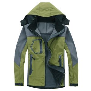 2020 North Hommes Veste imperméable respirante Softshell Femme Homme plein air Sports Manteaux de ski Randonnée d'hiver coupe-vent Outwear Soft Shell veste