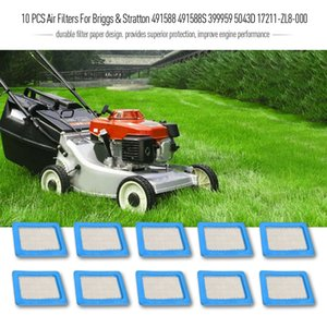 New 10 Pcs Air Filters For Briggs & Stratton 491588 491588s 399959 5043d 17211-zl8-000 Lawn Mower Accessories Mowers Parts