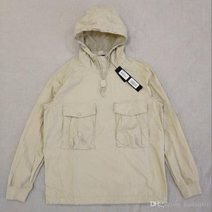 19SS 639F2 GHOST PIECE КУРТКА / Анорак COTTON NYLON ТЕЛА пуловер куртка Мужчины Женщины пальто Мода Верхняя одежда HFLSJK349