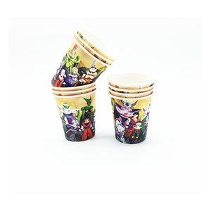 10pcs lot themed disposable paper cups birthday party supplies themed paper cups