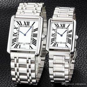 homens moda mulheres dos amantes ultra-finos relógios em aço inoxidável completa de quartzo banda relógio de pulso para o homem senhora melhores relogios Valentine Gift