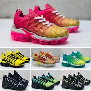 Nike Air VaporMax Plus TN Bebek kız erkek Çocuklar TN Nefes Basketbol Sneaker Tasarımcı Marka Wudao Atletik Spor Rahat Ayakkabılar Bahar Koşu Çocuk ayakkabı 24-35