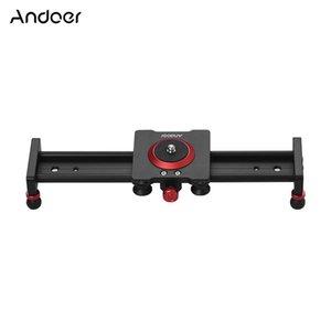 Бытовая техника и электроника 30 40см 50см камера из алюминиевого сплава Damping Slider Track Видео Стабилизатор Rail Track Slider для DSLR видеокамер