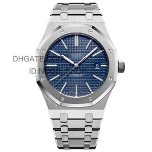 Hommes Top Montres Hommes automatique Sport Machines d'affaires 2813 Mouvement Montres 41mm en acier inoxydable lumineux étanche 30M Wristwatch