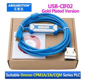 Adaptador USB-CIF02 CIF02 USB para Omron CQM1-CIF02 USB TO RS232 CPM1 Adecuado / CPM1A / CPM2A / CPM2AH / C200HS PLC de la serie