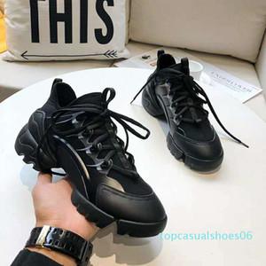 Desenhador de moda sapatos Dorky pai Triplo Desi para sapatas das mulheres dos homens Bege Preto Sports 35 - 40 T06