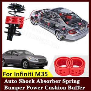 For Infiniti M35 2pcs High-quality Front or Rear Car Shock Absorber Spring Bumper Power Auto-buffer Car Cushion Urethane