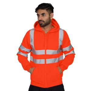 Winter Mens Cardigan Hoodies Fashion Designer Panelled Sports Hoodies Casual Hommes Fleece Clothing