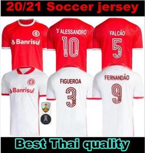 2020 2021 sc Internacional maglie calcio casa lontano terzo 20 21 camisetas Bruno Silva N.LOPEZ GUERRERO camicie Kids kit uomo le donne del calcio
