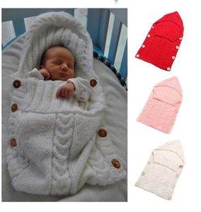 Babies Blankets Newborn Baby Baby Handmade Knit Toddler Costume Button Sleeping Sleeping Crochet Sacks Knitted Infant Bags Sleep Blanke Eppu