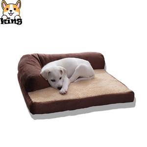 Nouveau mode Lits pour chiens pour les grands chiens 2019 Chien lit douillet de haute qualité Grand lit Pet Pad Couch Couverture