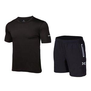 2020 nuovi uomini asciutti rapidi che eseguono set trainning sport respirabili da jogging esercizio vestito short di yoga palestra set vestiti di fitness per gli uomini