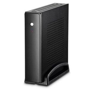 İnce Mini Itx Cases 20 Mm Aşağıda Anakart için 2.5 İnç Hdd Ssd SGCC Bilgisayar Oyun Pc Masaüstü Şasi Quiet Usb2.0