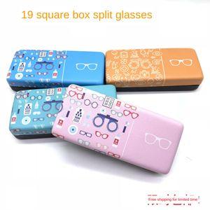 20-year painted square sun sunglasses case printable myopia optical glasses case