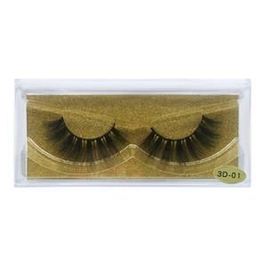 25 Styles de cheveux Mink cils Big 3D longs cils spectaculaires de 25 mm de vison 3D long et épais dramatique Outils faux cils beauté Extension