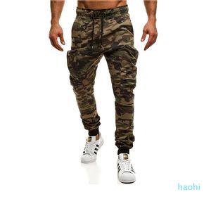 fashion-2020 New Stylish Hot Sale Men Camouflage Pocket Overalls Side Pocket Sport Work Trouser Pants Neu anziehen Herrenbekleidung
