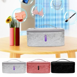 LED UV Light Sterilizing Disinfect Bag 10W Wireless Charger for Beauty Tools Sterilizing bag for Makeup Brushes Underwear