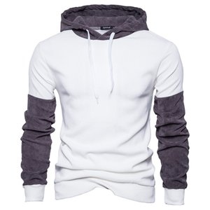 Mens Designer Hoodie Fashion Color Patchwork Pullovers Hoodies Casual Long Sleeve Spring Autumn Hoodies Mens Clothes