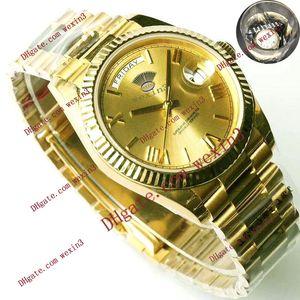17 цветов Мужчины Datejust роскошные часы автоматический 2813 Римский шрифт показывает циферблат 41 мм Мужские водонепроницаемые часы дизайнер день дата наручные часы